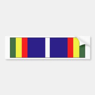 Cinta de encomio bicentenaria de la unidad de USCG Etiqueta De Parachoque