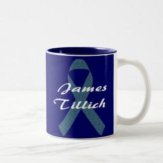 Cinta de James Tillich Taza Dos Tonos