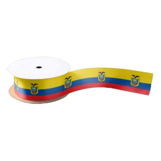 Cinta de la bandera del Ecuadorian Lazo De Raso
