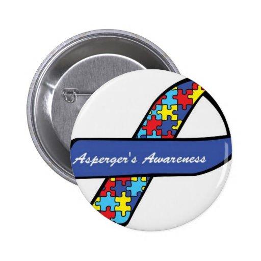 Cinta de la conciencia de Asperger Pin