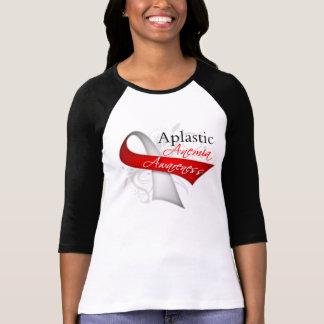Cinta de la conciencia de la anemia aplástica camisetas