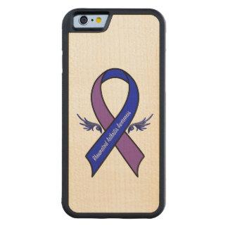 Cinta de la conciencia de la artritis reumatoide funda de iPhone 6 bumper arce