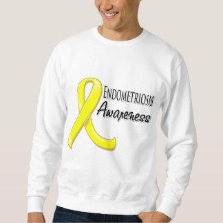Cinta de la conciencia de la endometriosis sudadera
