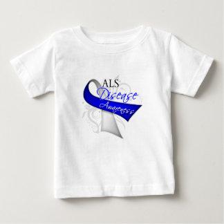 Cinta de la conciencia de la enfermedad del ALS Camisas