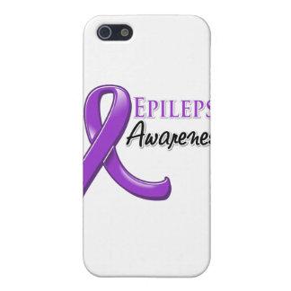 Cinta de la conciencia de la epilepsia iPhone 5 funda