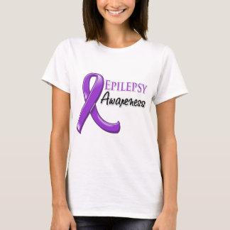Cinta de la conciencia de la epilepsia playera