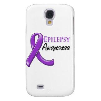 Cinta de la conciencia de la epilepsia samsung galaxy s4 cover