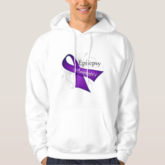 Cinta de la conciencia de la epilepsia sudadera