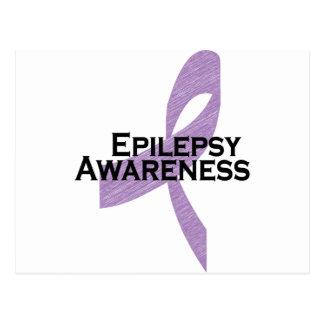 cinta de la conciencia de la epilepsia postal