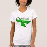 Cinta de la conciencia de la salud mental camiseta