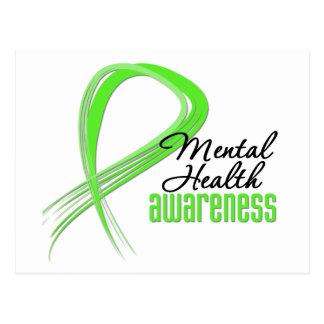 Cinta de la conciencia de la salud mental postal