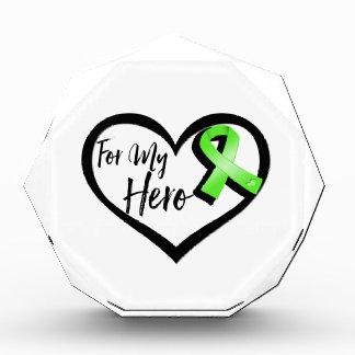 Cinta de la conciencia de la verde lima para mi