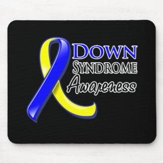Cinta de la conciencia de Síndrome de Down Tapetes De Raton