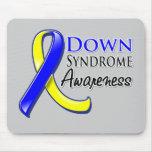 Cinta de la conciencia de Síndrome de Down Tapetes De Ratón