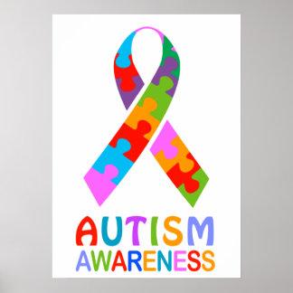 Cinta de la conciencia del autismo impresiones