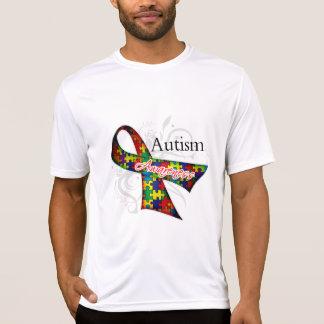 Cinta de la conciencia del autismo playeras