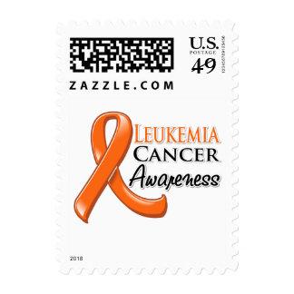 Cinta de la conciencia del cáncer de la leucemia sello