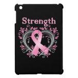 Cinta de la conciencia del cáncer de pecho de la f iPad mini protector