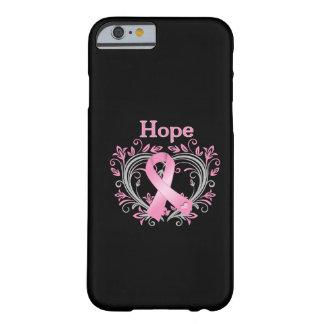 Cinta de la conciencia del cáncer de pecho de la funda de iPhone 6 slim