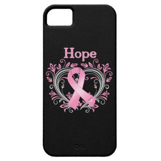 Cinta de la conciencia del cáncer de pecho de la iPhone 5 carcasas