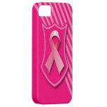 Cinta de la conciencia del cáncer de pecho iPhone 5 Case-Mate funda