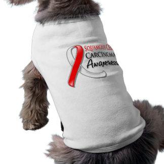 Cinta de la conciencia del carcinoma de células es camisetas de mascota