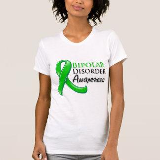 Cinta de la conciencia del desorden bipolar camisetas