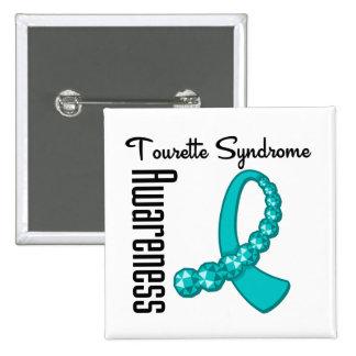 Cinta de la conciencia del síndrome de Tourette Pins