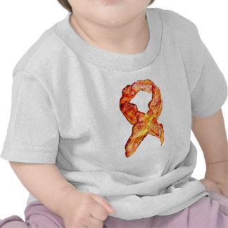 Cinta de la conciencia del tocino camisetas