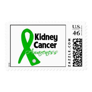 Cinta de la conciencia del verde del cáncer del ri