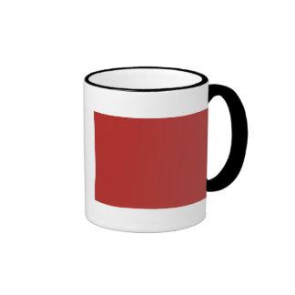 Cinta de la conducta del guardacostas buena taza de café