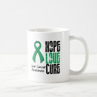 Cinta de la curación del amor de la esperanza del  taza