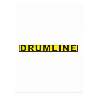Cinta de la escena del crimen de Drumline Tarjeta Postal