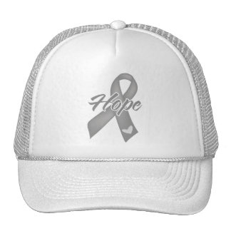 Cinta de la esperanza - cáncer de cerebro gorra
