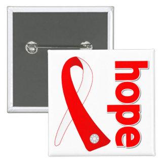 Cinta de la esperanza de la anemia aplástica pins