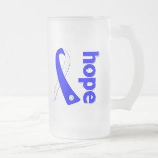 Cinta de la ESPERANZA del ALS Lou Gehrig's Disease Tazas De Café
