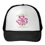Cinta de la esperanza del cáncer de pecho gorra