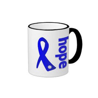 Cinta de la esperanza del Histiocytosis Taza A Dos Colores