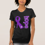 Cinta de la esperanza del lupus camiseta