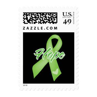 Cinta de la esperanza - enfermedad de Lyme Sellos