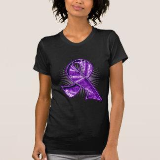 Cinta de la filigrana del lema de Leiomyosarcoma Camisetas