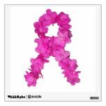 Cinta de la flor de la conciencia del cáncer de pe