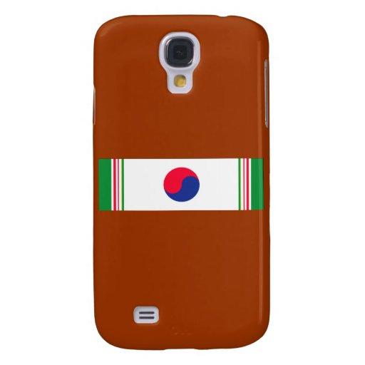 Cinta de la Guerra de Corea Funda Para Galaxy S4