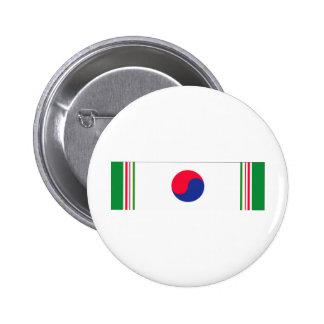 Cinta de la Guerra de Corea Pin