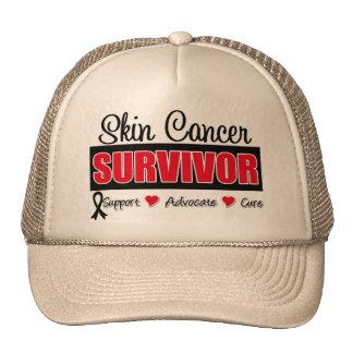 Cinta de la insignia del superviviente del cáncer  gorras