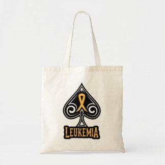 Cinta de la leucemia - bolso - edición de las espa bolsas