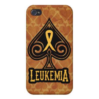 Cinta de la leucemia - caso del iPhone 4 - edición iPhone 4 Cárcasas