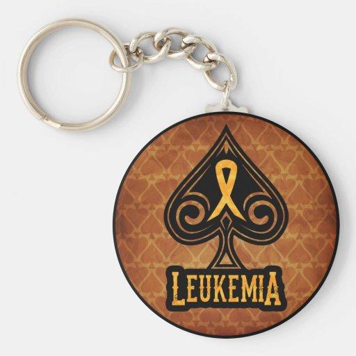 Cinta de la leucemia - llavero - edición de las es