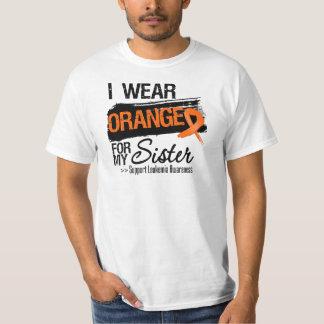 Cinta de la leucemia para mi hermana camisas