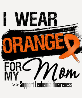 Cinta de la leucemia para mi mamá playeras